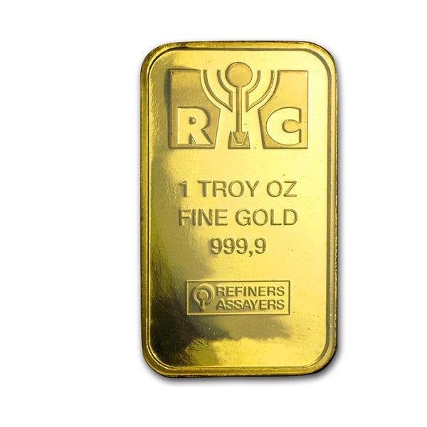 Republic Metals Corporation 1oz Gold Bar