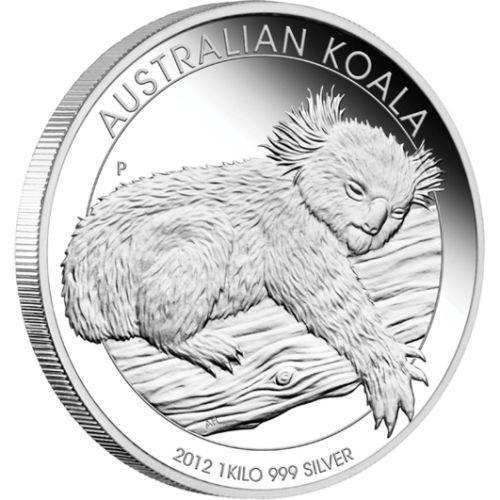 1kg Australian Koala silver