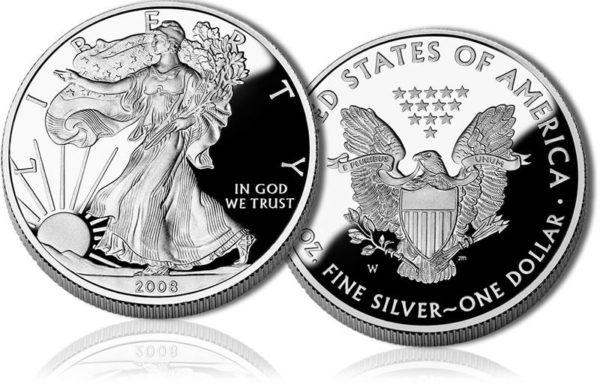 1oz Silver US Eagle