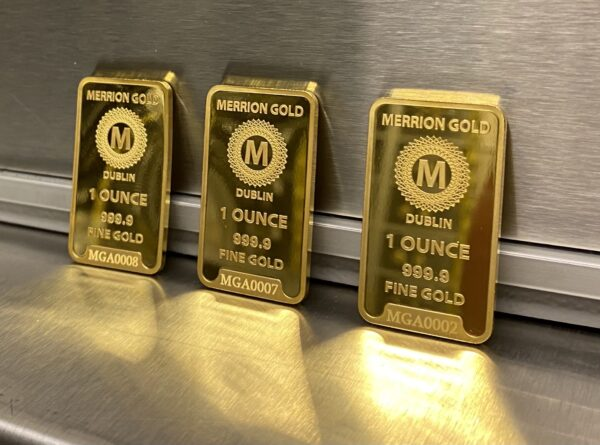 Merrion Gold 1oz bar